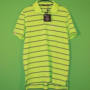 RLX Ralph Lauren Mens M Green Purple Shirt NEW